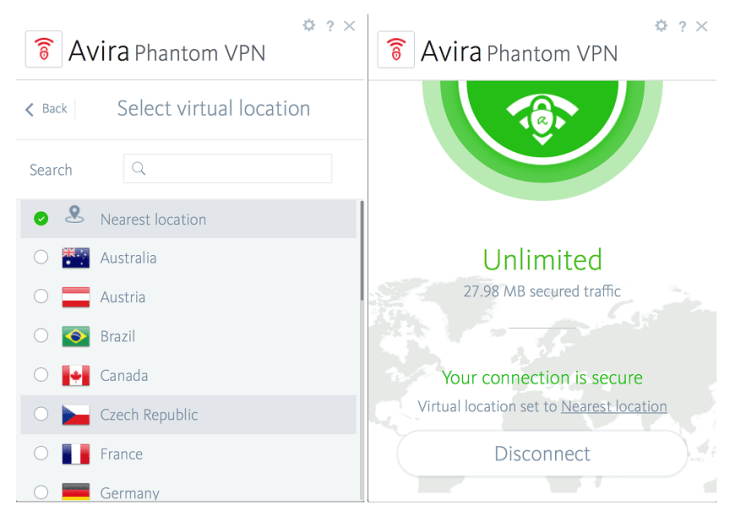Avira Phantom VPN Pro 2.37.1.224458 Crack Activation key Latest Download