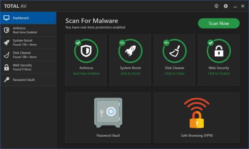 Total AV Antivirus 2021 Crack + Serial Key Free download
